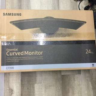 Wts Brandnew in box Samsung 24 inches curve 24c390f led monitor