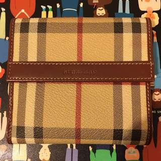 Burberry SC Cred Coin Wallet