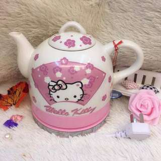 Hello Kitty Ceramic Electric  Kettle