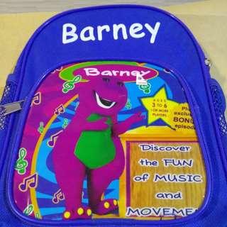 Barney's baby bag