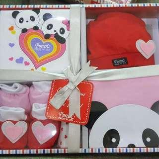 Baby set panda