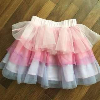 Layer Chiffon Skirt -'2-4yo