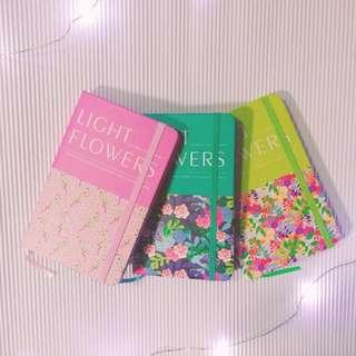 Light flowers系列筆記簿