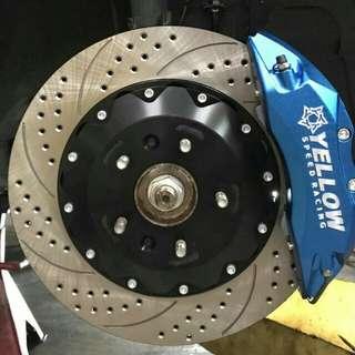 Yellowspeed 6pot Brakes