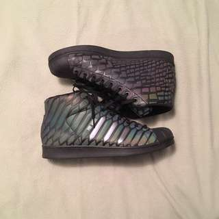 Black 3M Shoe/Adidas Pro Model Xeno Size 13