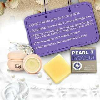 Pearl Cream Set (with Pearl Soap)