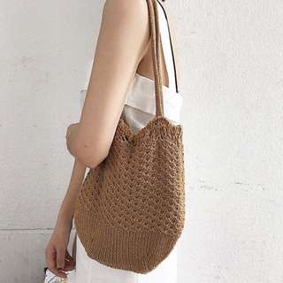 New knit summer bag