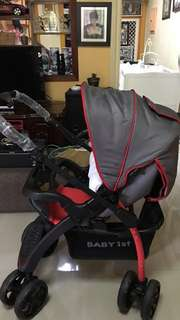 Baby 1st Stroller And Car seat/carriee