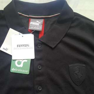 Authentic FERRARI Puma Polo Shirt