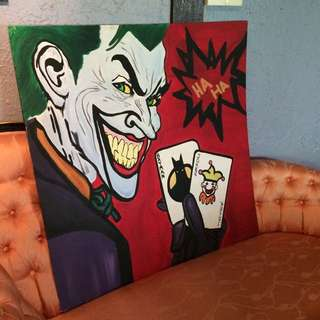 Batman Joker Painting.