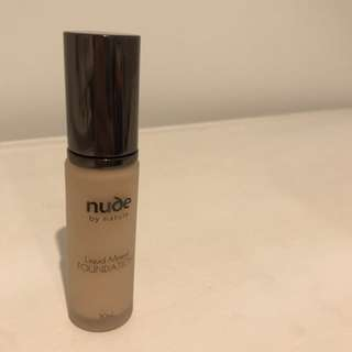 Price reduced!!! Nude By Nature Foundation
