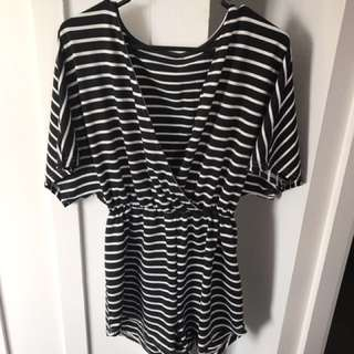 Black And White Jumpsuit (price reduced)