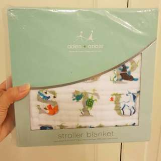 Aden Anais baby swaddle blanket