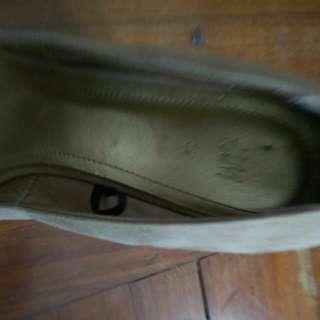 高跟露趾船底(37碼)女裝涼鞋
