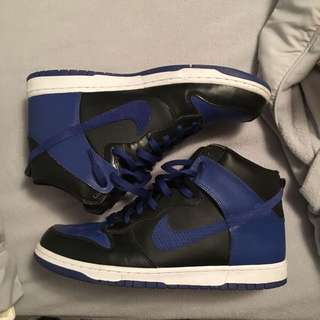 Nike Dunk Blue And Black Size 13