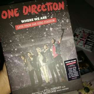 One Direction: Where We Are (DVD)