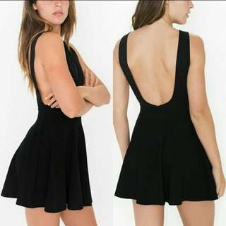 American Apparel Ponte Skater Dress