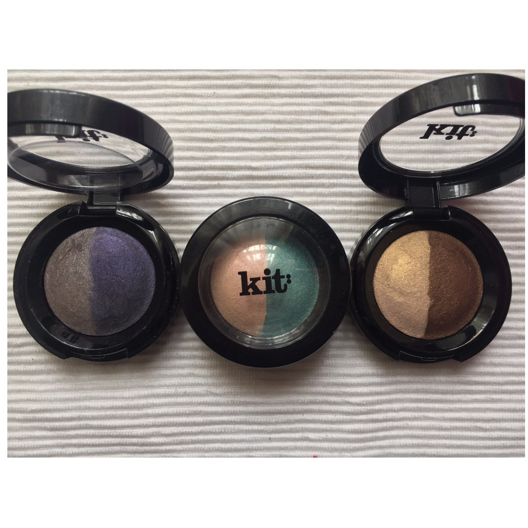 Kit cosmetics eyeshadow duo x 3 set AUTHENTIC