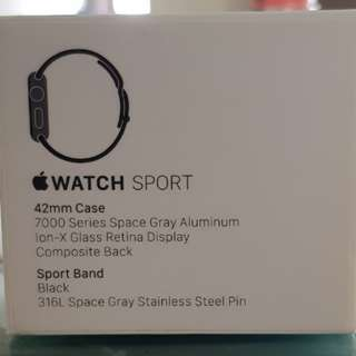 Iwatch 7000 Series 42mm Space Gray