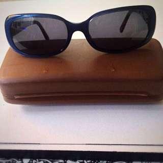 Salvatore Ferragamo Turquoise Sunglasses 2002 111-61 Italy Authentic