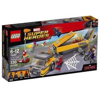 100% 全新 LEGO Super Heroes Tanker Truck Takedown