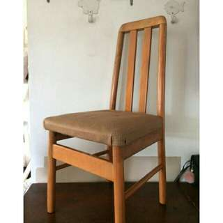 Wooden dinning chair wood 100%
