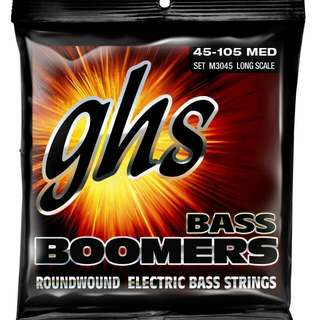 GHS Bass Boomers most popular bass strings