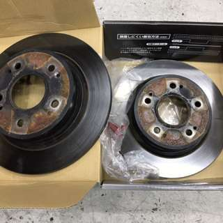 Honda Vezel Stock Rear Rotors