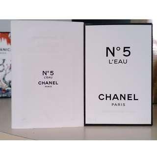Chanel - N5 l'eau edt 50ml
