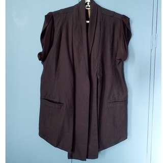 Plus Size Corporate Attire - Vest Blazer