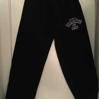 University of Toronto sweatpants black