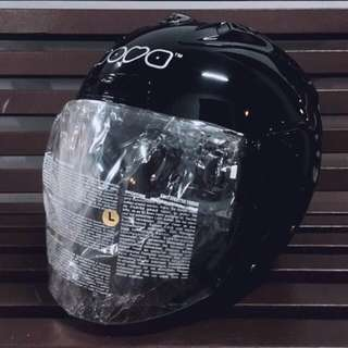 Nova Dots Glossy Black Helmet ( PSB Approved )