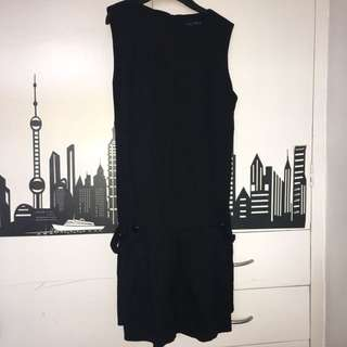 Zara Black Dress