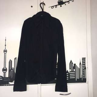 Black Long sleeves Polo