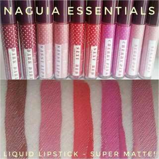 Liquid Lipstick - Super Matte By Naguia Essentials