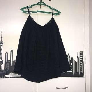 Uniqlo Black Skirt