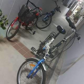 Used bicycle for sale but in good condition