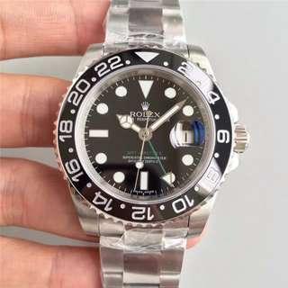 面交 高端奢侈品 Rolex 綠針 116710 GMT 116710LN 40mm