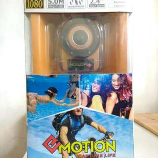 Emotion Action Camera 1080p full HD