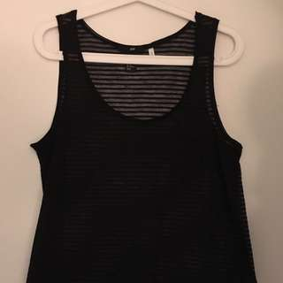 H&M see-through tank top