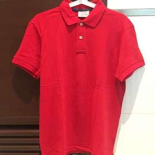 New esprit polo shirt merah