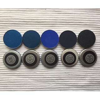 MAC eyeshadow refill set of 5