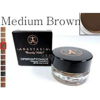 Anastasia Beverly Hills DIPBROW Pomade Medium Brown BRAND NEW & AUTHENTIC (NO OFFERS)