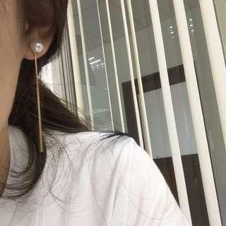 🦄珍珠耳針式耳環