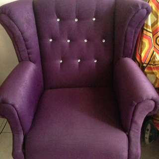 Purple Chair Sofa