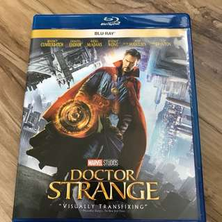 Dr strange bluray