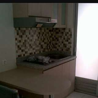 sewa apartemen kalibata city 2 BR semi furnished
