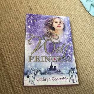 Wolf princess book