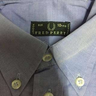 Fred Perry Long Sleeve for boys