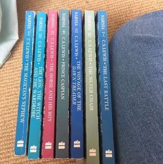 Complete Narnia series